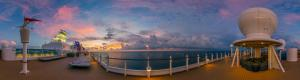 Disney Fantasy Satellite Sun Deck in Virtual Reality Tour