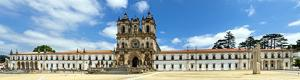 Alcoba�a Monastery panorama in Portugal
