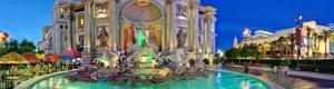 Las Vegas Caesars Palace Neptune Fountain Virtual Tour