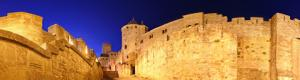 Inside the fortress of Carcassonne