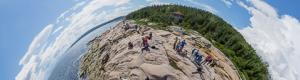 Whale watching in Cap-de-Bon-D�sir at Escoumins in Quebec