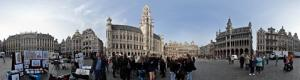 Grand-Place of Brussels in 360 tour