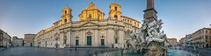 Piazza Navona in Rome interactive panoramic photography