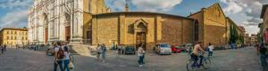 Basilica of Santa Croce in Florence Italy virtual tour