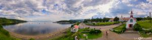 Tadoussac Bay with Indian Chapel in Virtual Reality