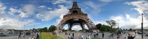 Eiffel Tower: Visit under the tower in photo and 360 tour