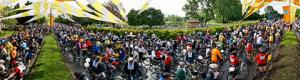 The Tour de l'Ile de Montr�al bike fest