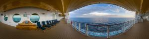 Disney Fantasy Ship Walking and Jogging track