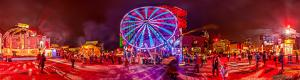 Interactive panorama of Air France big wheel at Montreal en lumiere