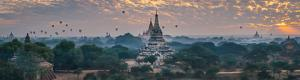 Balloons over Bagan Temples in Myanmar Virtual Tour