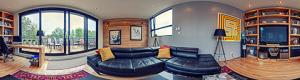 Penthouse condominium in the Plateau Mont-Royal virtual tour